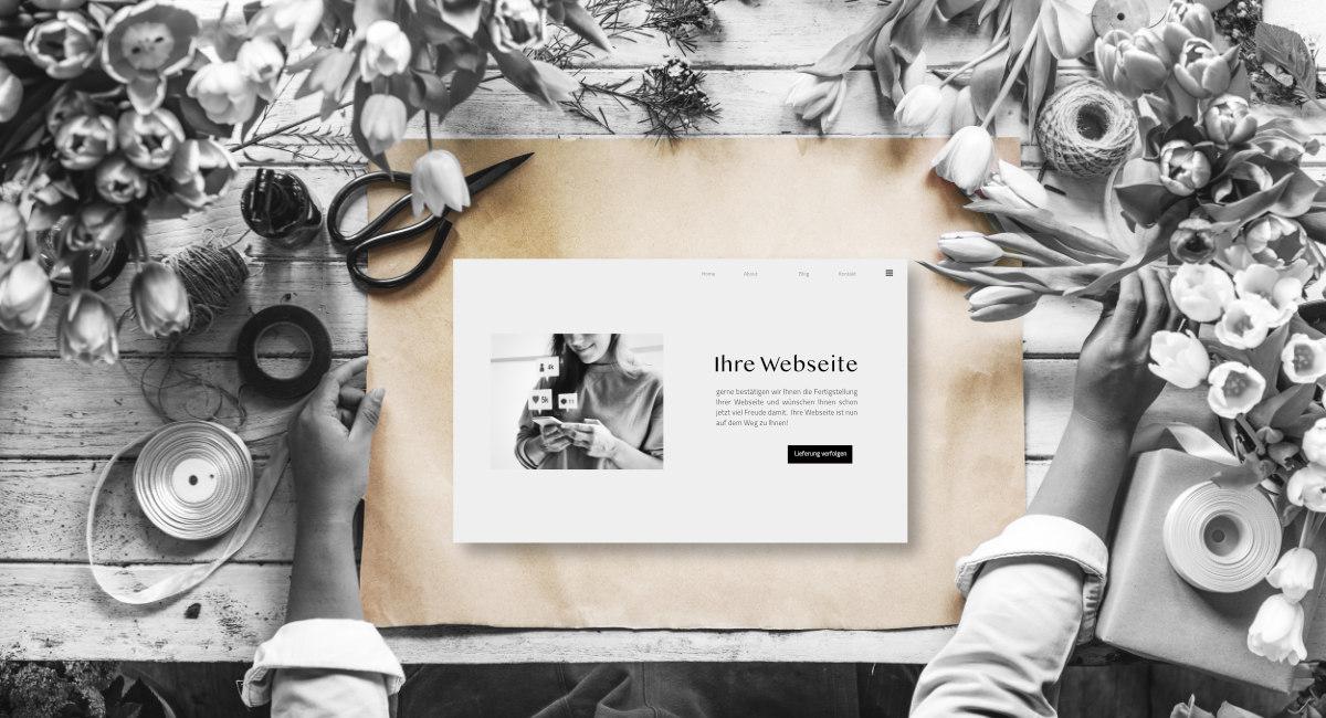 Unverbindliche Preisanfrage Für Webdesign Oder Neue Webseite